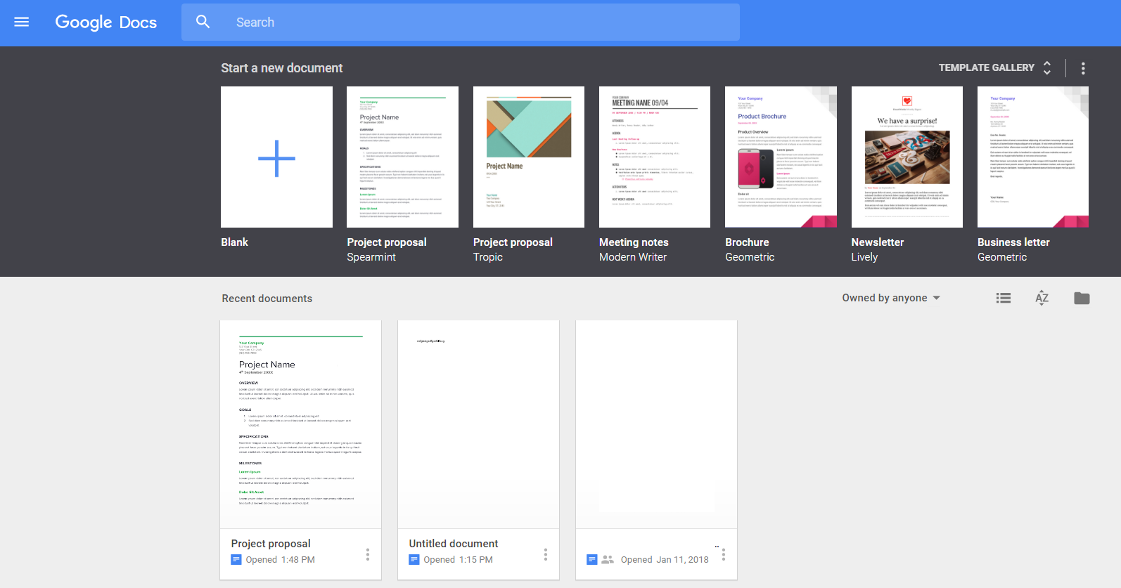 Get your Google Docs on a wall-mounted screen - Yodeck User