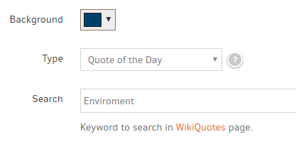 example wiki quotes