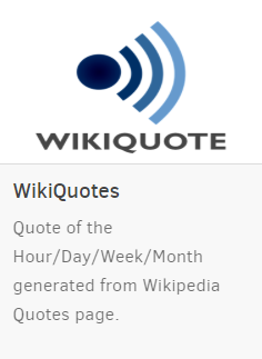 wiki quotes