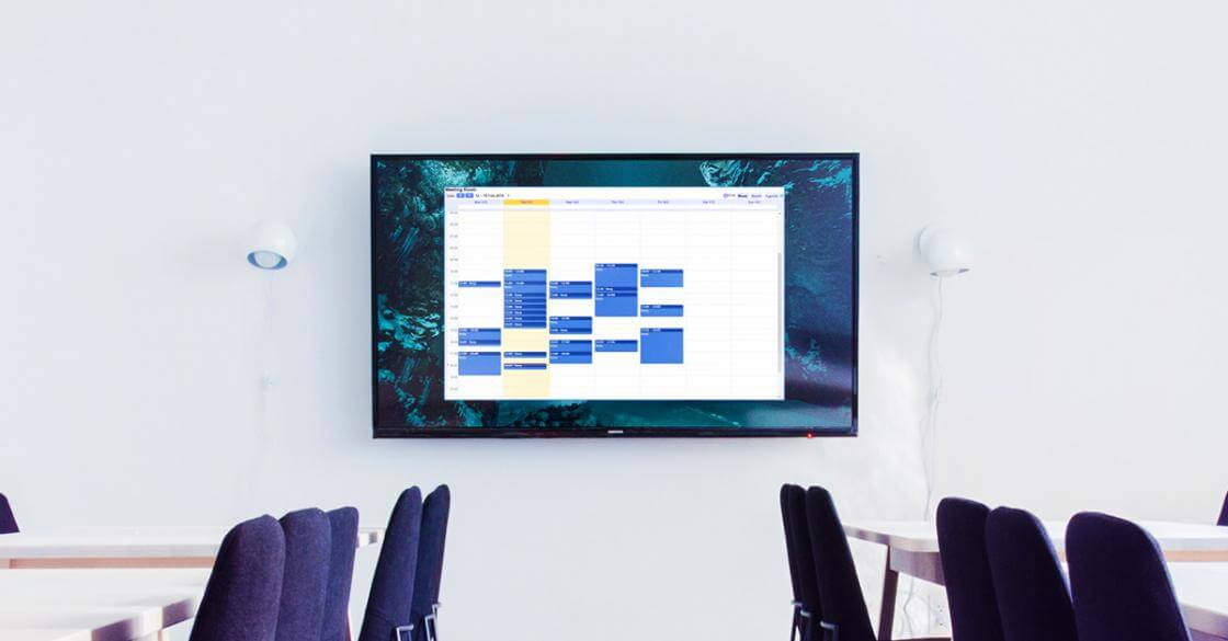 How to get your Google Calendar on a wall-mounted screen