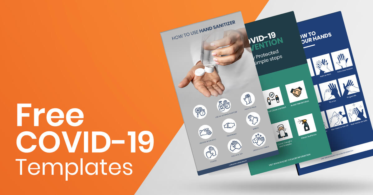 free templates for covid19