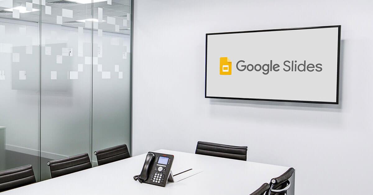 Google Slides for Digital Signage