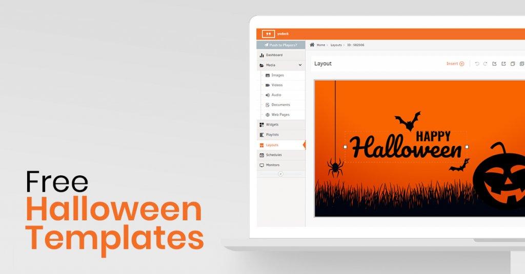 Free Halloween Digital Signage Templates