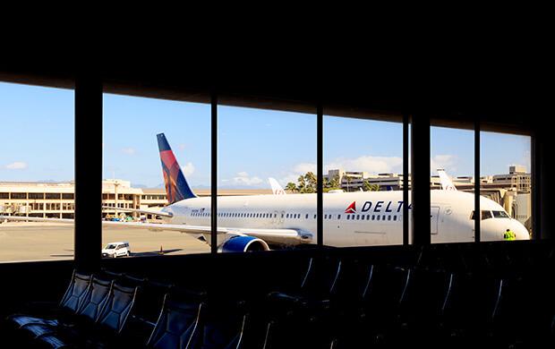 Delta Airlines signage