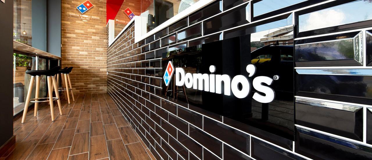 Domino's Pizza displays case study