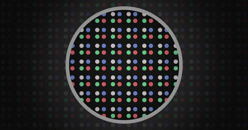 Fine-Pixel-Displays