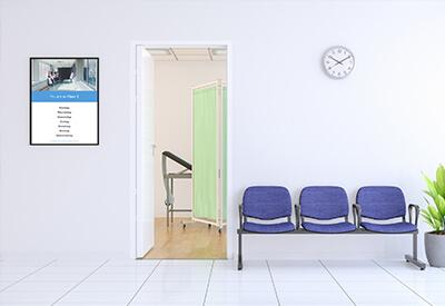 healthcare digital signage software