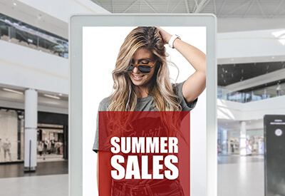 retail digital signage software