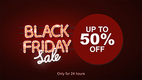 Black Friday signage template
