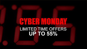 Cyber Monday signage template