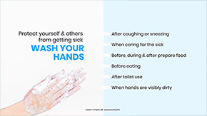 wash your hands signage template