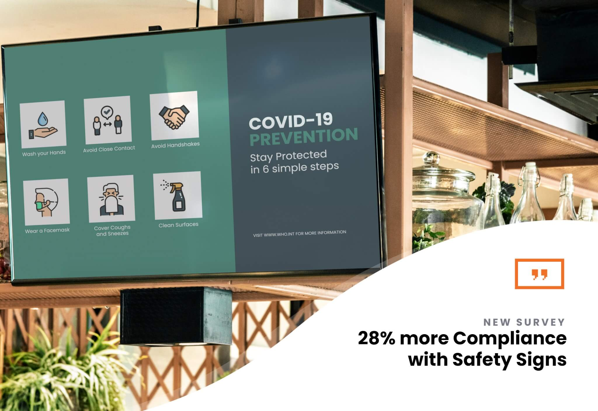 How Effective Are Safety Signs? Covid-19 Safety Signs Spur 28% Jump in Compliance